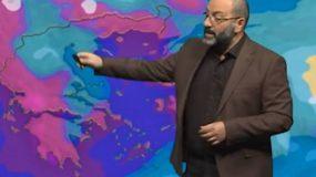 Αρναούτογλου: Χαλάει ο καιρός – Έρχονται βροχές και χιόνια
