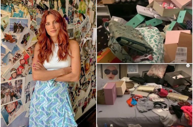 Η Μαίρη Συνατσάκη έπεσε θύμα διάρρηξης- Σοκάρουν οι εικόνες του σπιτιού της