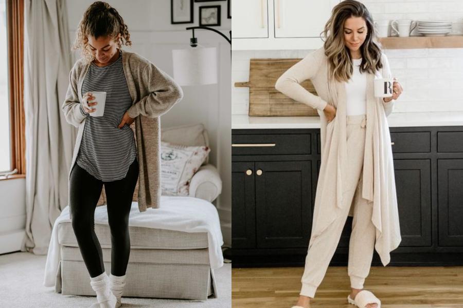 Τα πιο άνετα & μοντέρνα outfits για μέσα στο σπίτι