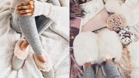 Μένουμε σπίτι: Οι πιο ζεστές & trendy παντόφλες για το σπίτι ιδεςς για γρναικειες παντογλες μενουμτ σπι τ