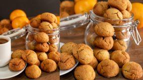 Μαμαδίστικα μπισκότα πορτοκαλιού χωρίς αυγά και χωρίς γάλα (νηστίσιμα)