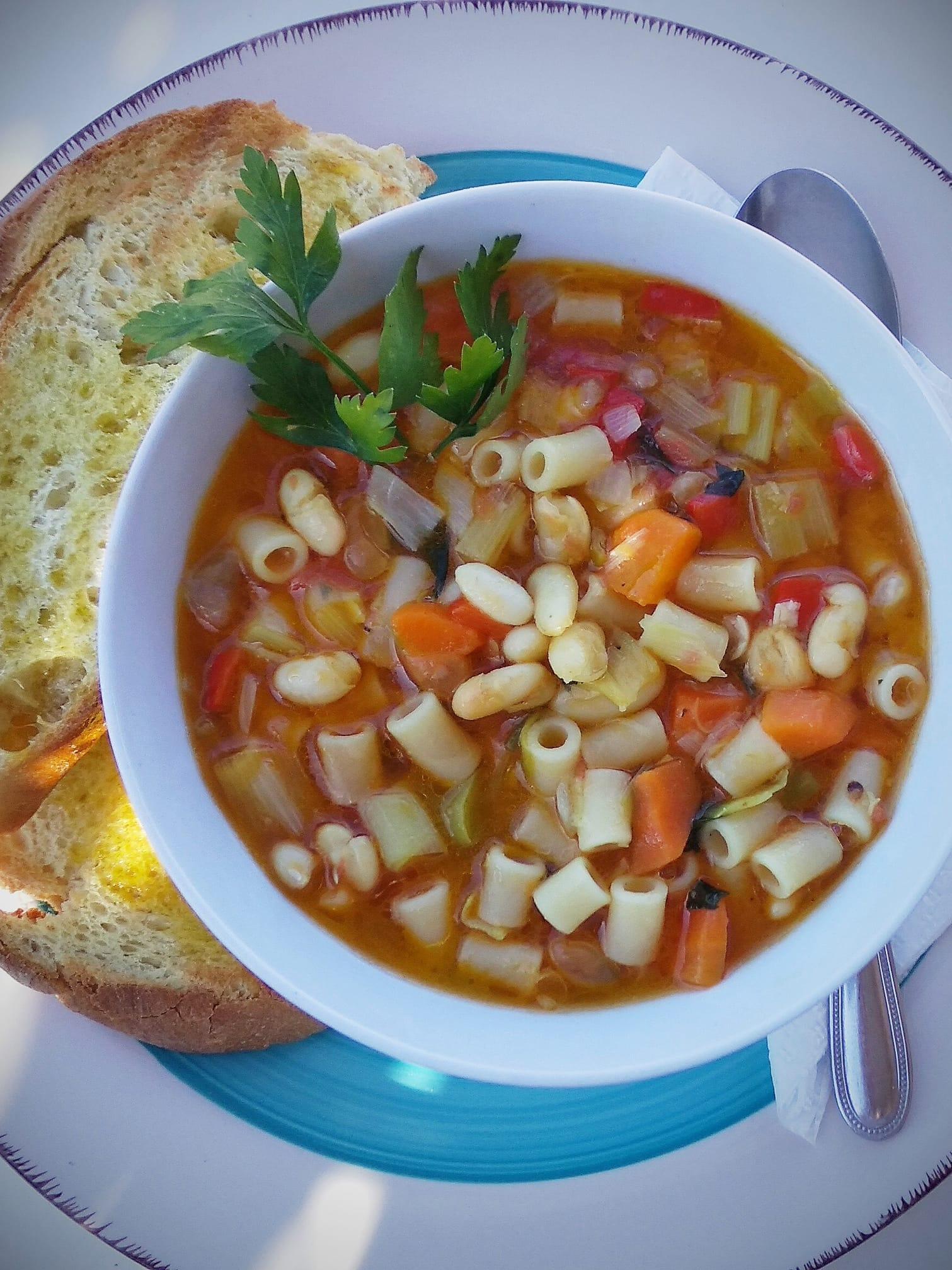 συνταγή για σούπα μινεστρόνε