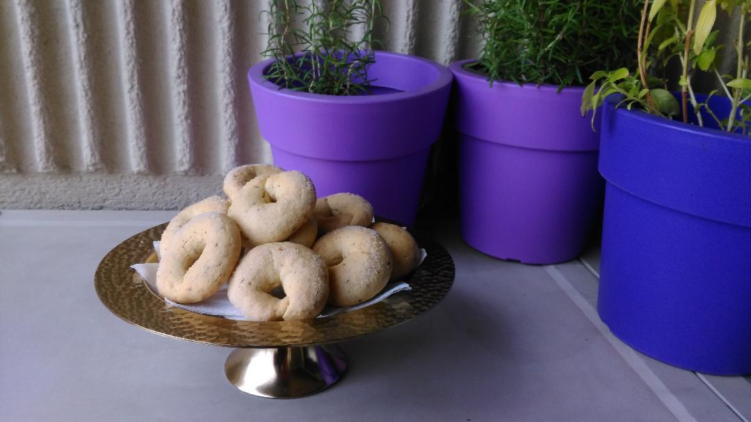Ιταλικά κουλουράκια ciambelline al vino e anice με γλυκάνισο