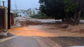 Πνίγηκε πάλι η Κρήτη – Μεγάλες καταστροφές στη Χερσόνησο