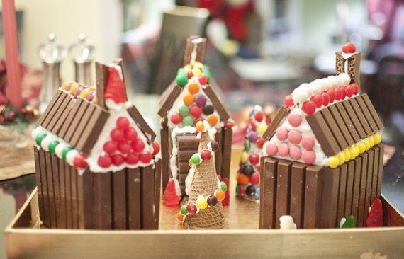 Χριστουγεννιάτικα σοκολατένια σπιτάκια -Kit Kat Candy House