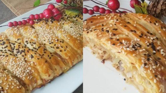 Λαχταριστή κοτόπιτα για το Χριστουγεννιάτικο τραπέζι