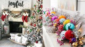 15 υπέροχες χριστουγεννιάτικες γιρλάντες για τον στολισμό του 2020