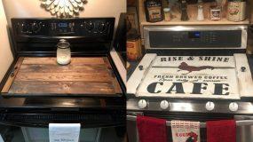 Diy ξύλινα καπάκια για τον φούρνο της κουζίνας – 15 οικονομικοί τρόποι