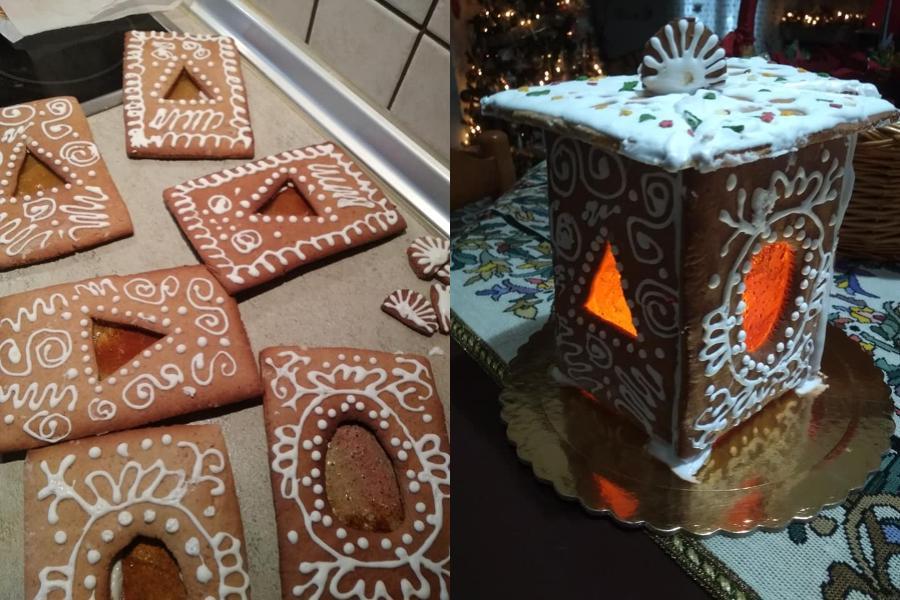 Συνταγή για χριστουγεννιάτικα φαναράκια από μπισκότο