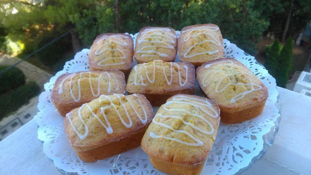 Muffins με γέμιση μαρμελάδα πορτοκαλιού συνταγή