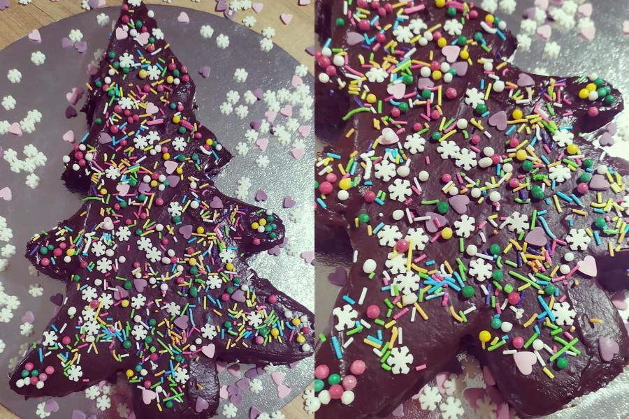 Συνταγή για σοκολατένιο Χριστουγεννιάτικο δέντρο