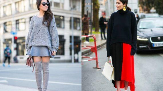 Oversized πουλόβερ: Trendy ιδέες για outfits με τις πιο άνετες μπλούζες