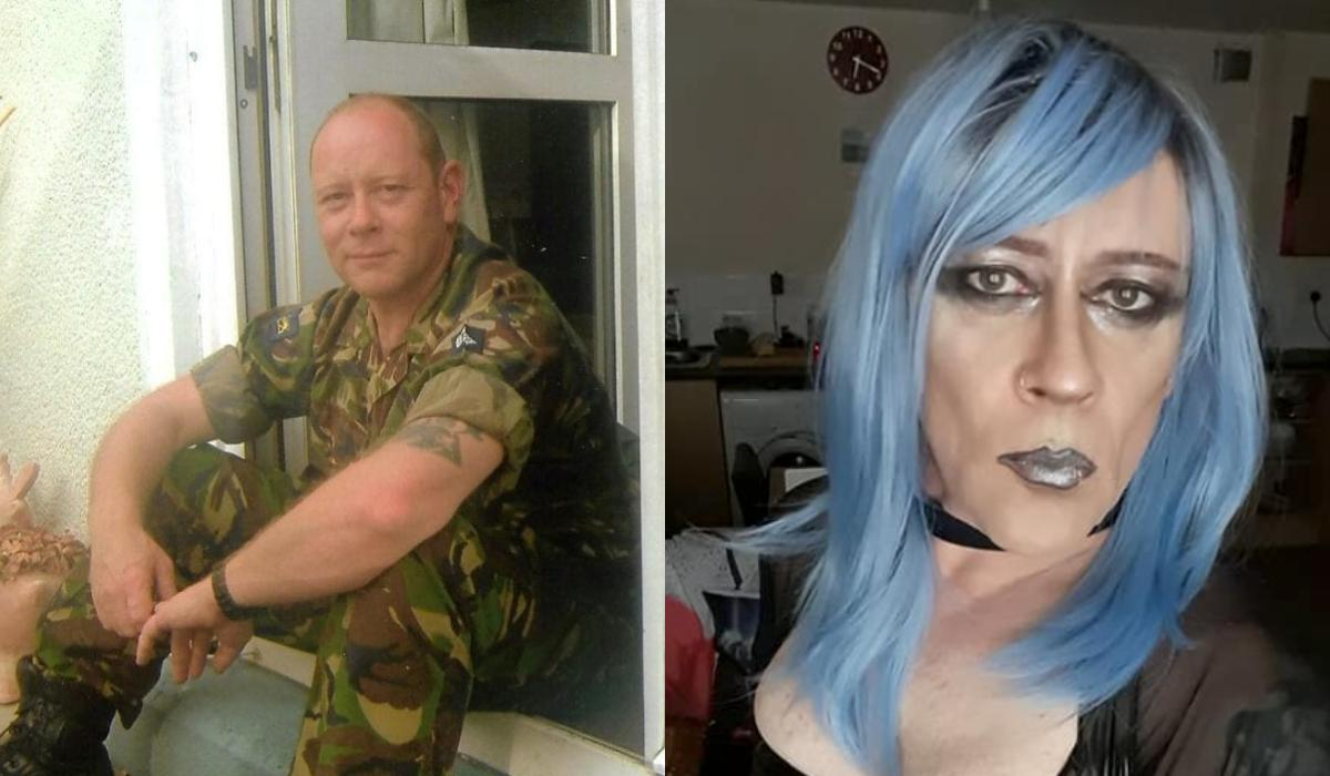 Andi Halliley: Ο μάχιμος στρατιωτικός με 30 χρόνια θητείας που πλέον ζει σαν γυναίκα