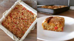 Πίτα με νόστιμη γέμιση μελιτζάνας ή αλλιώς μελιτζανόπιτα