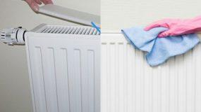 Καθαρίστε πανεύκολα τα καλοριφέρ σας με ένα εύκολο clean tip