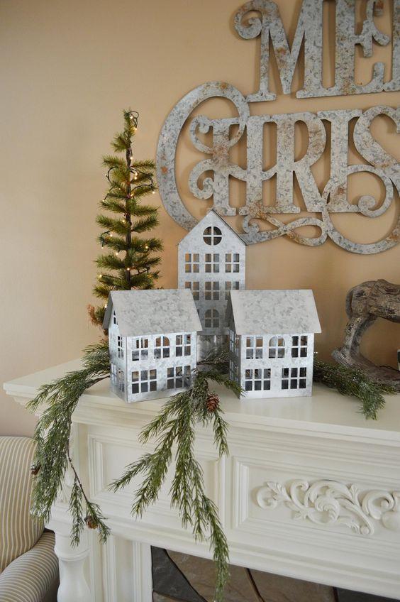 χριστουγεννιάτικη διακόσμηση: Αληθινά κλαριά δέντρων για την χριστουγεννιάτικη διακόσμηση