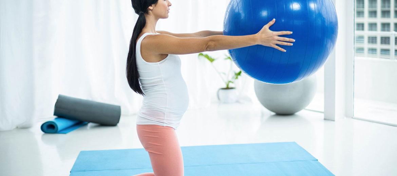 Εγκυμοσύνη: Χρησιμοποιήστε αυτήν την μπάλα άσκησης