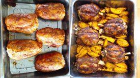 Κότσι χοιρινό στο φούρνο με τραγανή κρούστα