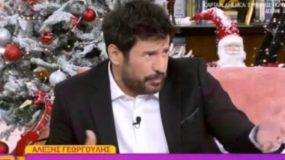 Έξαλλος on air ο Αλέξης Γεωργούλης με τον Κώστα Τσουρό: «Να παραιτηθείς»