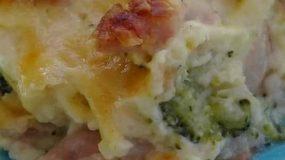 Μπρόκολο ογκρατέν με μπέικον & πλούσια κρέμα μπεσαμέλ fvto