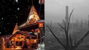 Ροβανιέμι: Γνώριζες την σκοτεινή ιστορία για το χωριό του Άγιου Βασίλη;