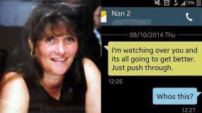 Κι όμως: Έλαβαν μήνυμα από την νεκρή γιαγιά τους