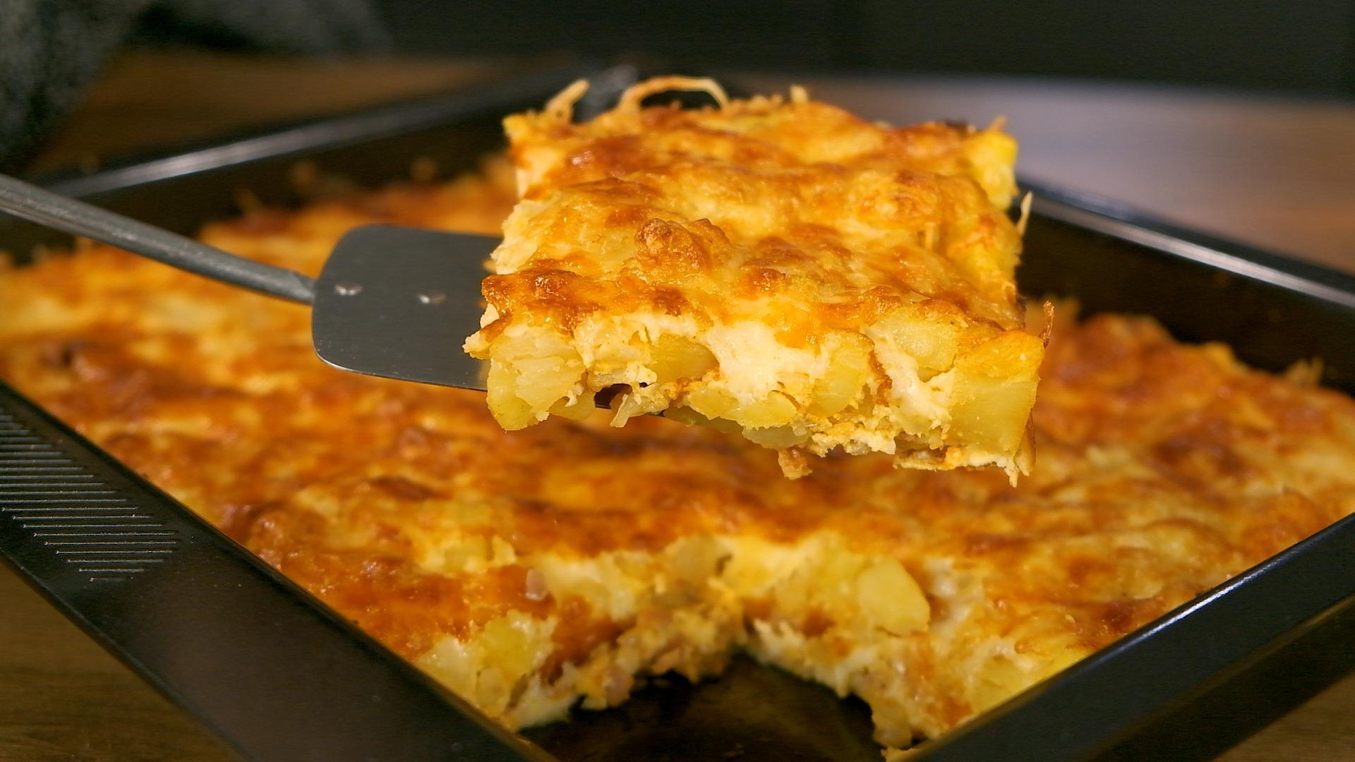 Ομελέτα φούρνου με μπέικον και πατάτες από το Live Kitchen συνταγή