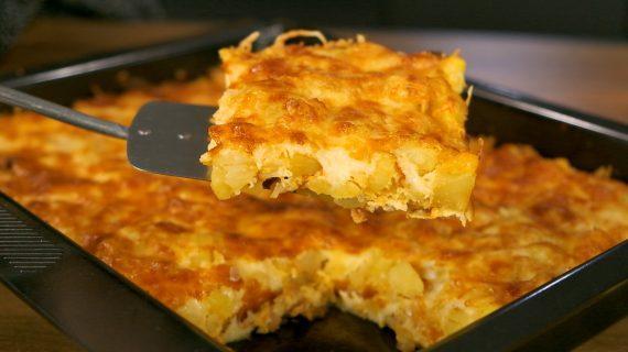 Ομελέτα φούρνου με μπέικον & πατάτες από το Live Kitchen