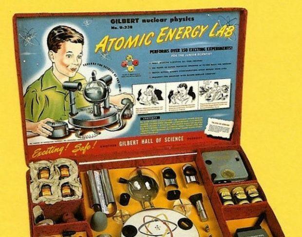 Το πιο επικίνδυνο παιχνίδι της ιστορίας που είχε ραδιενεργά υλικά