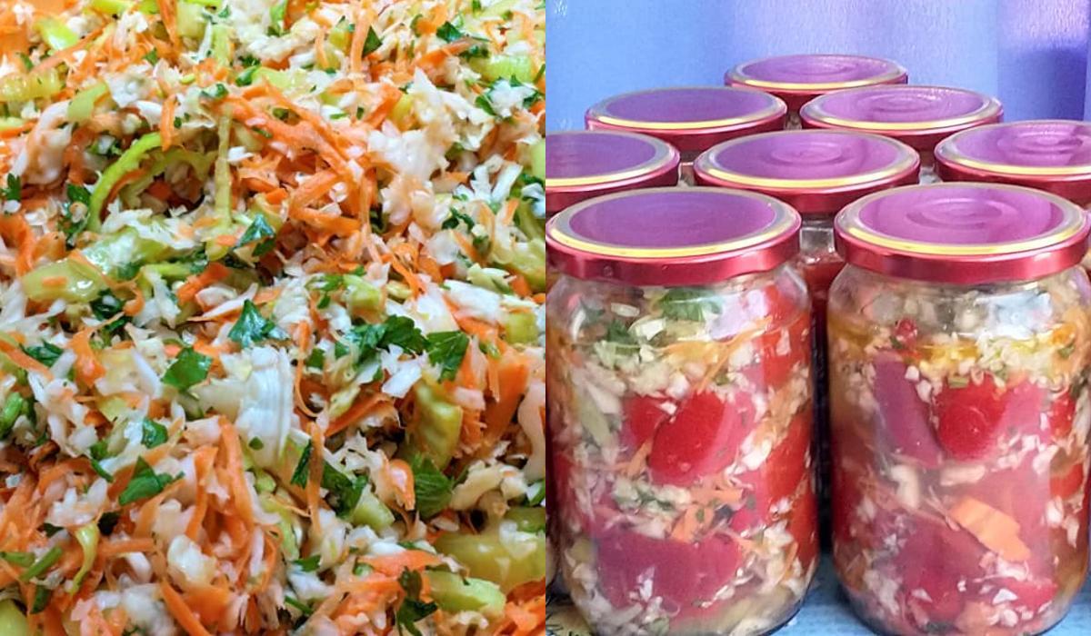 Πολίτικη σαλάτα σε τουρσί