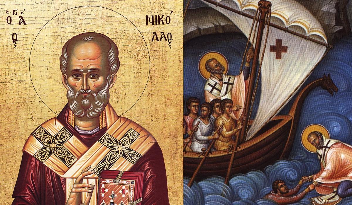 Άγιος Νικόλαος- Προστάτης των ναυτικών και των παιδιών και ή θαυματουργή προσευχή