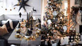 Ασπρόμαυρη διακόσμηση Χριστουγέννων! Ιδέες για όλο το σπίτι