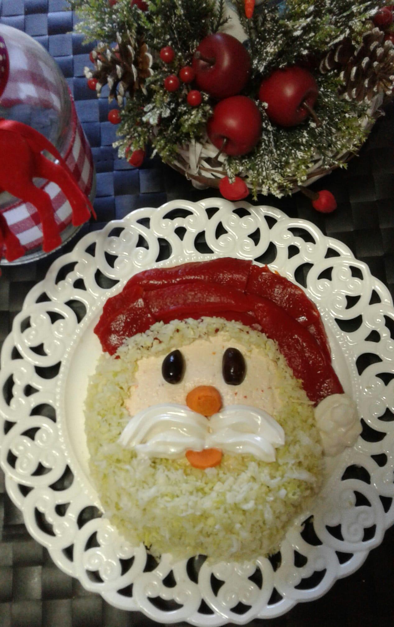Γιορτινή σαλάτα Άγιος Βασίλης συνταγή