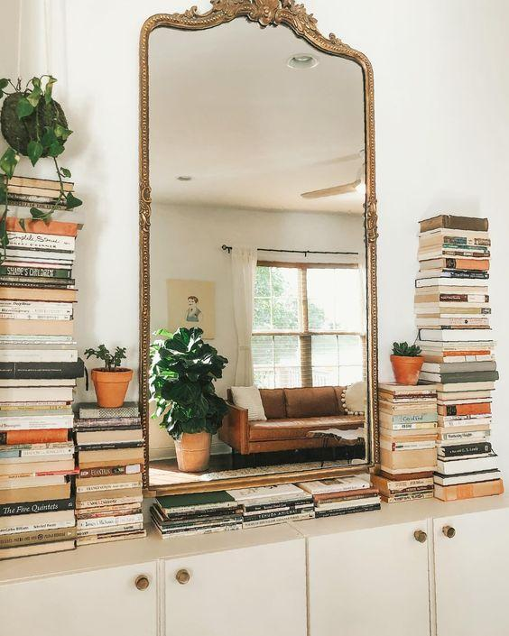 Φθηνό διακοσμητικό για το σπίτι με καθρέφτες