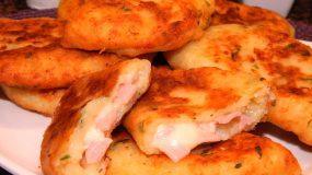 Νόστιμα ζαμπονοτυροπιτάκια με ζύμη πατάτας