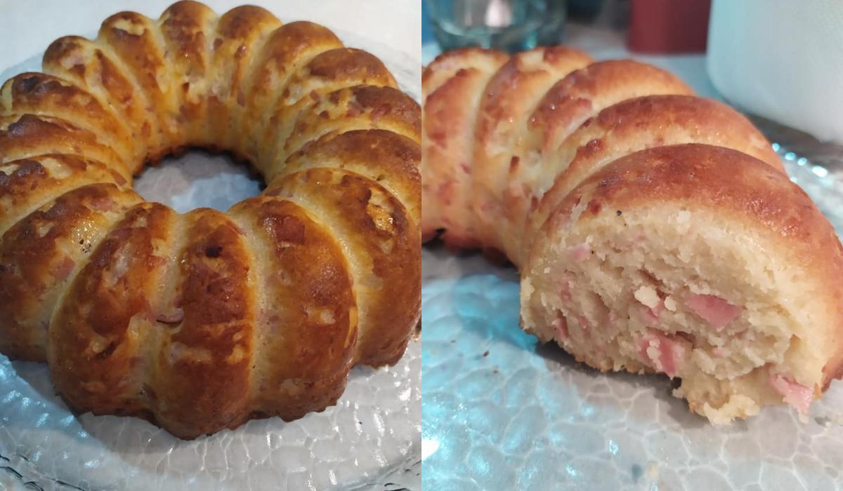 Υπέροχο αλμυρό κέικ! – Συνταγή της Βέφας Αλεξιάδου