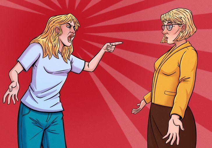 γυναίκες τσακώνονται