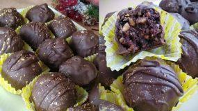 Νηστίσιμα σοκολατάκια με μανταρίνι
