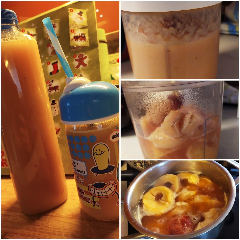 Φυσικός χυμός για παιδάκια τύπου Motion συνταγή