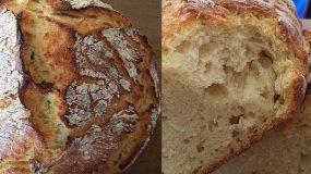 Συνταγή για ψωμί χωρίς ζύμωμα από τη Σόφη Τσιώπου