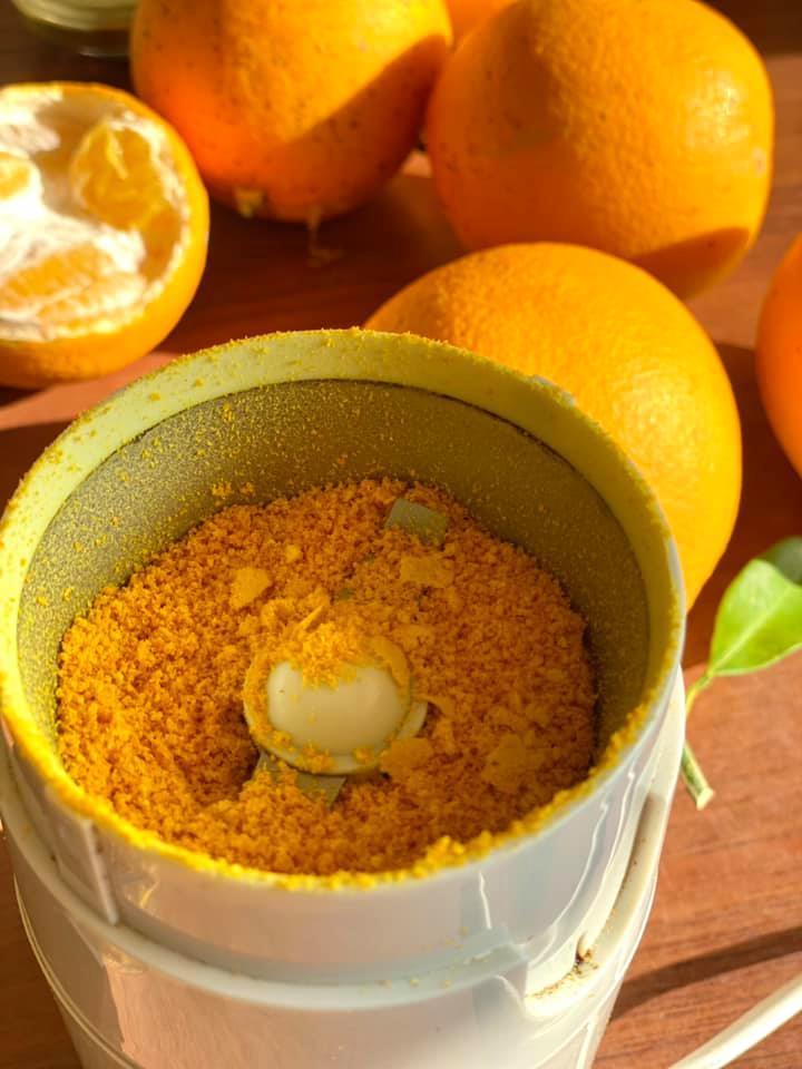 Πως να αποξηράνω φλούδες πορτοκάλι_