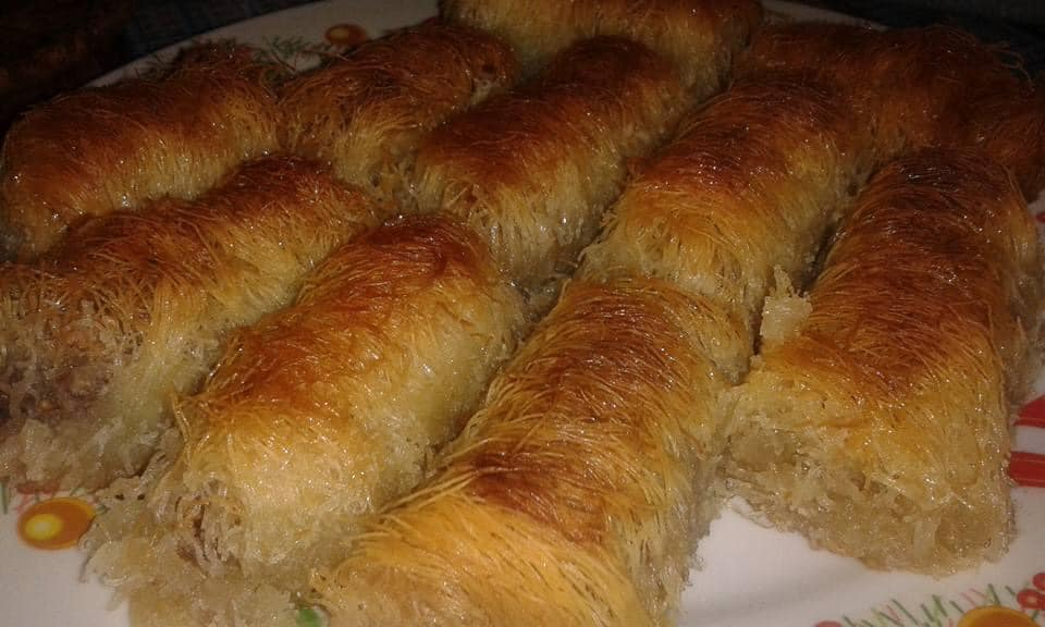 Κανταΐφι : Η καλύτερη συνταγή με φιστίκι Αιγίνης με όλα τα μυστικά