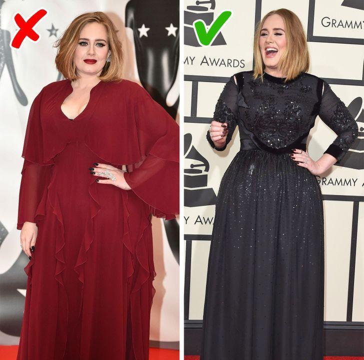 plus size γυναίκες με φαρδιά ρούχα