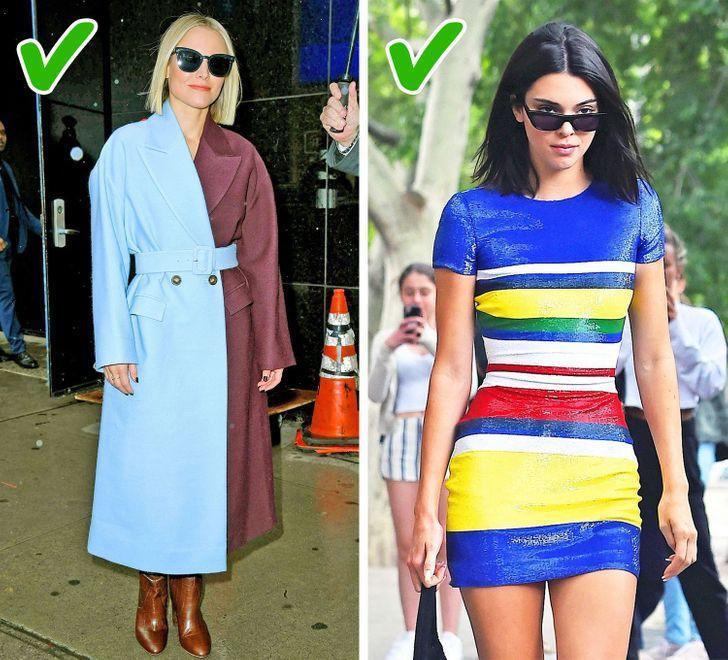 γυναίκες με πολύχρωμα ρούχα