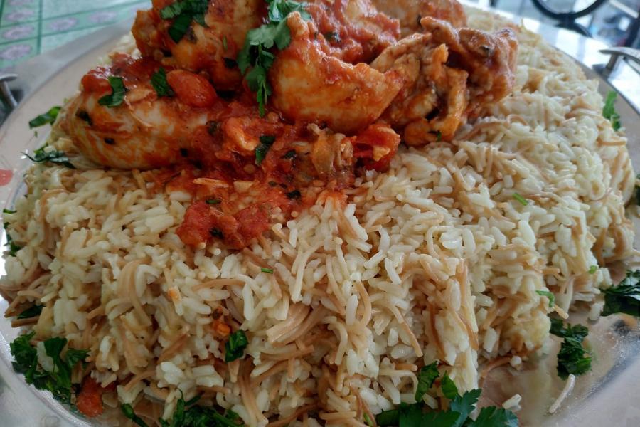 Συνταγή για παραδοσιακό αλμυρό ατζέμ πιλάφι με φιδέ