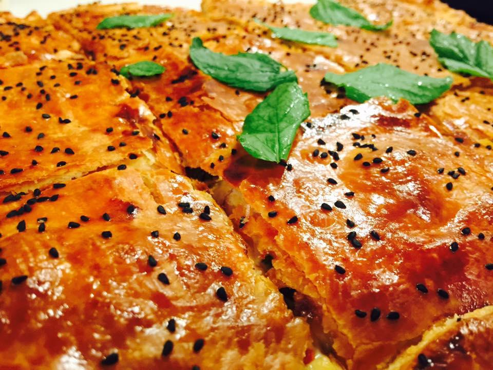 Παστουρμαδόπιτα ή πίτα της Καισαρείας
