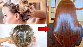 Κι όμως: Μάσκα με μόλις 4 υλικά ισιώνει μόνιμα τα μαλλιά μας