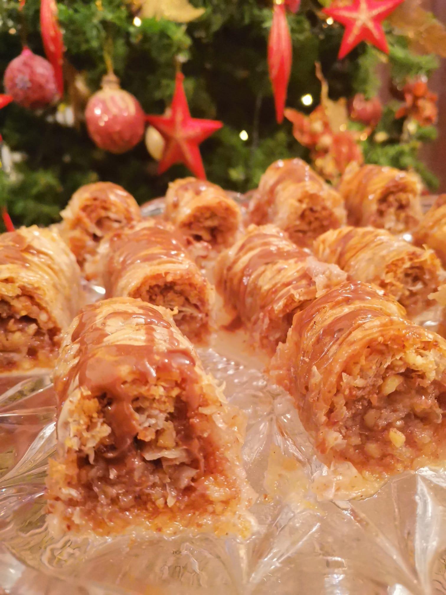 Σαραγλάκια: Συνταγή για τον Πρωτοχρονιάτικο μπουφέ