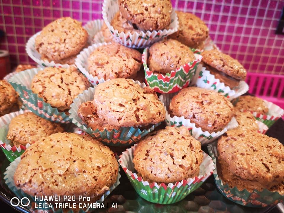 ατομικά γλυκά καρυδάτα συνταγή
