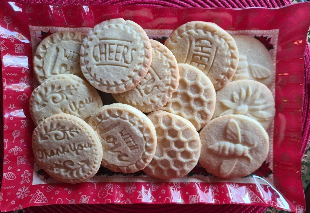 Συνταγή για μπισκότα βουτύρου με σφραγίδα